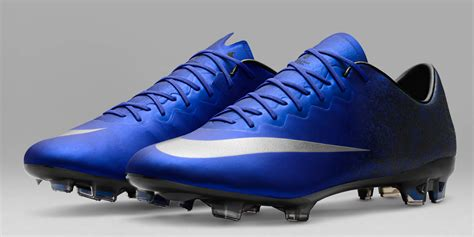 football shoes cr7 blue nike mercurial vapor x cristiano ronaldo 2016