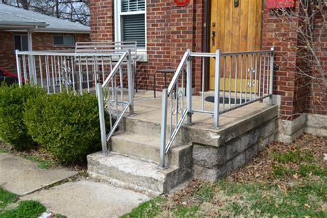 metal porch railing refurbishing our metal porch railing p s it looks like