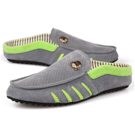 Sepatu Kulit Sintetis Sepatu Slip On Sepatu Casual Pria Ant 041 jual sepatu slip on pria model tengkorak