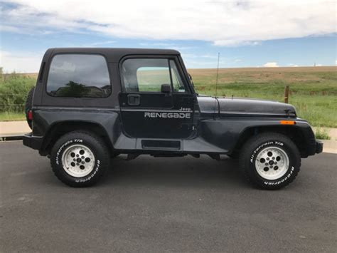 jeep package 1991 jeep wrangler renegade package jeep