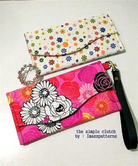 clutch purse templates simple clutch purse free pattern craftsy