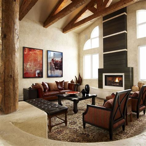 southwest living rooms 17 best images about rustic great rooms on studio interior cabin and the fireplace