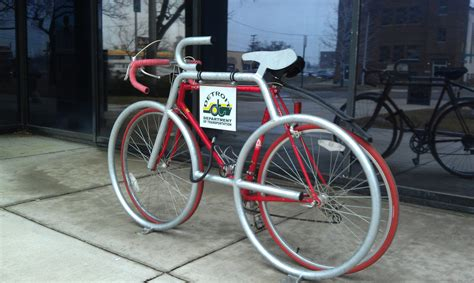 Bike Rack by Detroit S Newest And Coolest Bike Racks M Bike Org