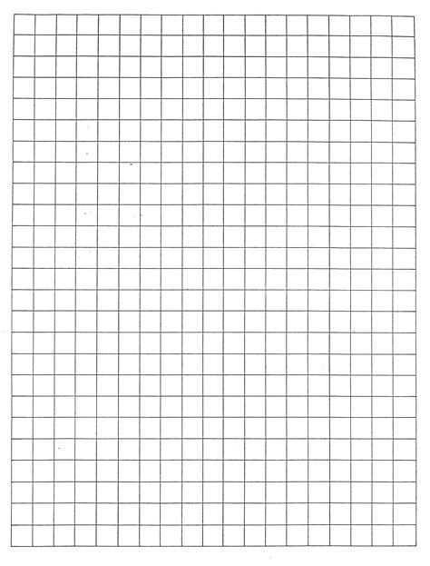 printable graph paper 1 inch 7 best images of printable centimeter grid paper 1 2