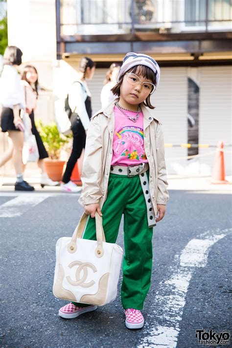 St Kid Coco Pink 6 year coco s cool harajuku style w funktique faith tokyo supreme chanel