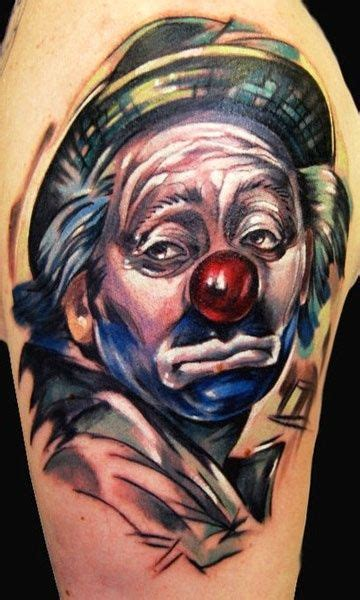 sad clown tattoo sad clown clown ideas clowns and sad