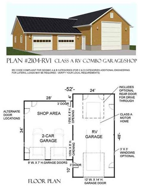 plans for garages detached rv garage plans woodworking projects plans