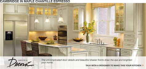 Home Depot Kitchen Cabinet Promotions Home Depot Cambridge In Maple Chantille Espresso Custom Cabinets Kitchen Remodel Ideas