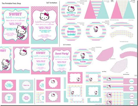 themes hello kitty c3 hello kitty birthday party printables school class and