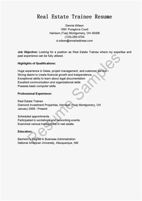 download real estate resume sample haadyaooverbayresort com
