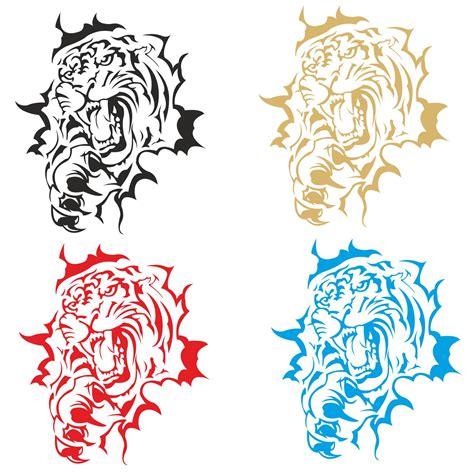 Motorhauben Aufkleber Aufkleber by Autoaufkleber Tribal Tiger Auto Aufkleber Sticker