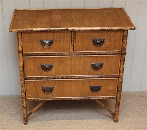 Bamboo Chest Of Drawers by Late 19th Century Bamboo Chest Of Drawers Antiques Atlas