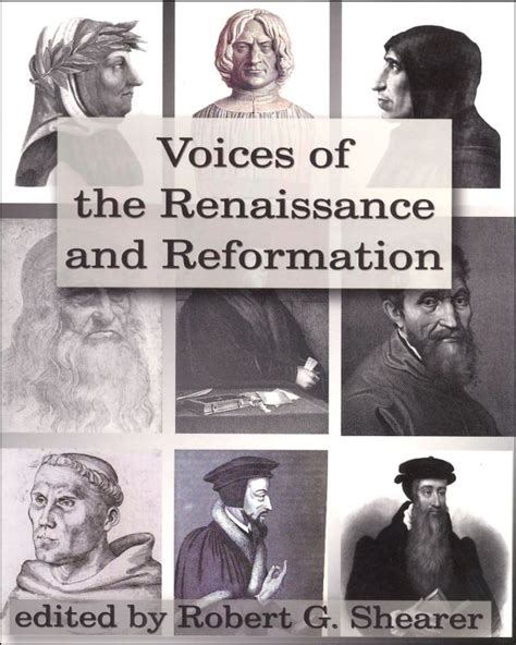 Voices Of The Renaissance And Reformation 045956 Details