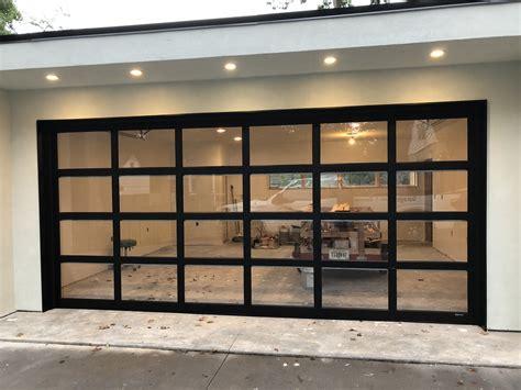 glass panel overhead doors counter top bar top glass aluminum garage door ga