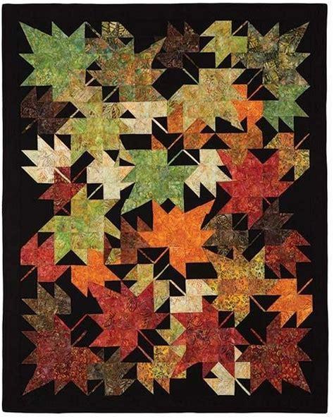 quilt pattern autumn leaves 496 best leaf quilts images on pinterest quilting