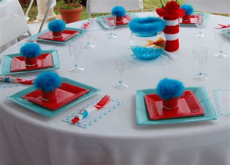 the cat in the hat birthday party ideas photo 5 of 16