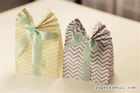 Make Origami Gift Bag - origami gift bag tutorial 183 how to make a gift bag