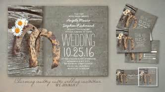 Country Style Save The Date Cards - read more rustic country style wedding invitations with horseshoe wedding invitations by jinaiji