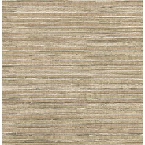 Brewster Home Depot by Brewster 56 Sq Ft Faux Grasscloth Wallpaper 145 62622