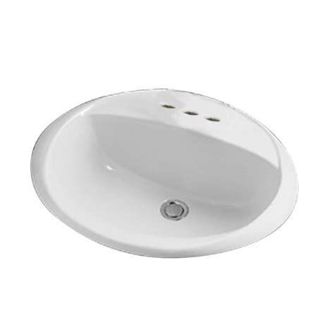 oval bathroom sinks drop in shop crane plumbing access pro white drop in oval bathroom