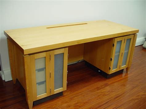 Custom Computer Desks Handmade Computer Desk By R J Hoppe Inc Custommade