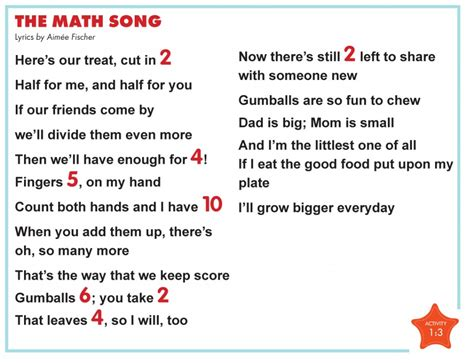 row row row your boat math song lyrics cognitive skills cd circle of education