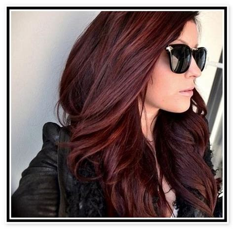 mahogany brown hair but want highlights what will it look like dark mahogany brown hair color the braveness of mahogany
