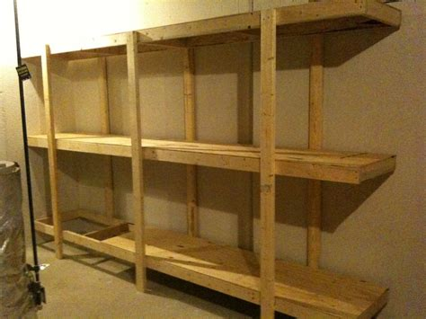 building basement shelves build easy free standing shelving unit for basement or garage
