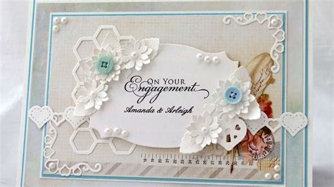 How To Make A Personalised Engagement Card Diy Crafts