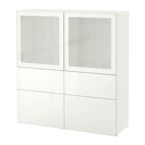 besta ikea vitrine best 197 vitrine wei 223 selsviken hochglanz frostglas wei 223