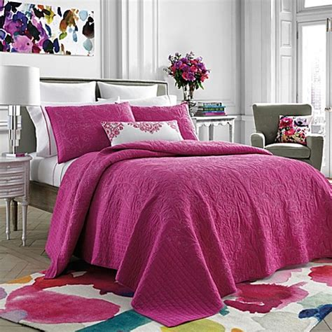 pink quilts and coverlets bluebellgray 174 pink coverlet bed bath beyond