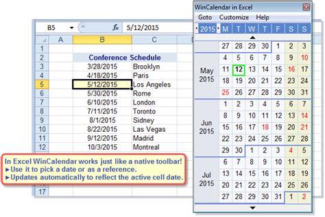 Excel Calendar Drop Excel Drop Calendar Calendar Template 2016