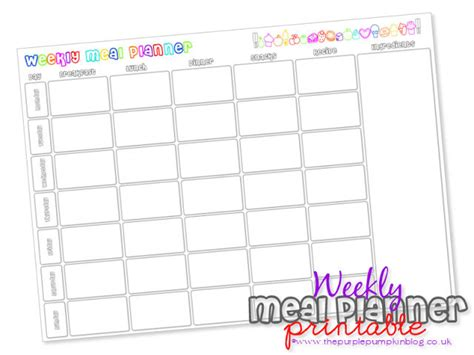 Printable Meal Planner Uk | easy meal prep for beginners thankgoodness for dolmio