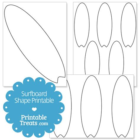 printable surfboard shape template printable treats com