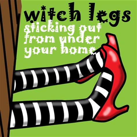 wicked witch shoes under house how to make pretend witch legs for halloween kids crafts activities kids crafts