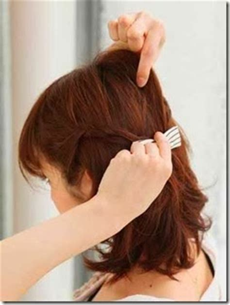tutorial rambut pendek gelombang tutorial cara mengikat rambut pendek gelombang artis