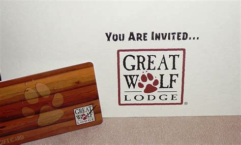 Great Wolf Lodge Gift Card Deals - great wolf lodge gift certificates gift ftempo