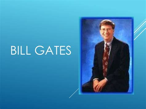 bill gates biography slideshare biografia de bill gates