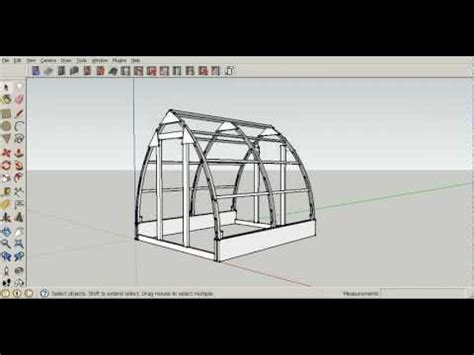Software For House Plans gothic arch greenhouse plan tutorial 5 construction