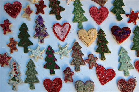 salt dough christmas ornaments and decorations tinkerlab