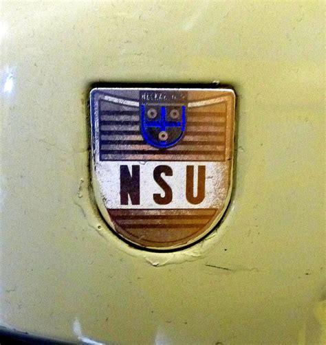 Nsu Motorr Der Logo by Nsu Werke Neckarsulm Logo Am Tank Des Mopeds Quot Quickly S23