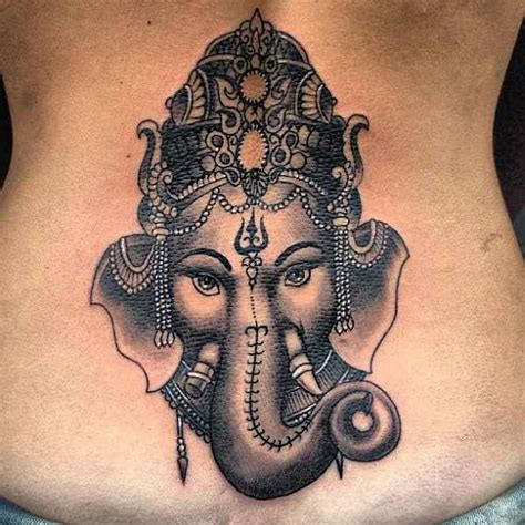 ganesh tattoo on back 60 awesome ganesha tattoos