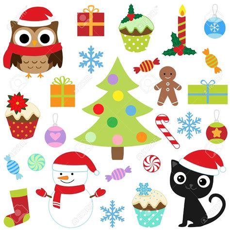 printable christmas icons xmas vector clipart clipartxtras