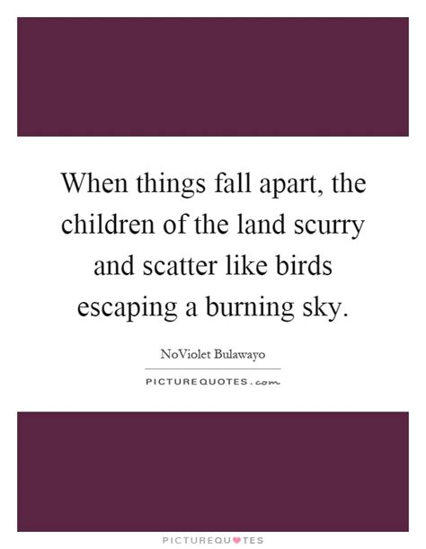 theme quotes in things fall apart when things fall apart the children of by noviolet