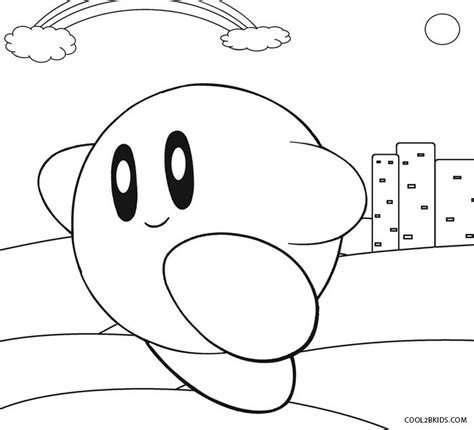 kirby mario coloring pages free coloring pages of kirby return to dreamland
