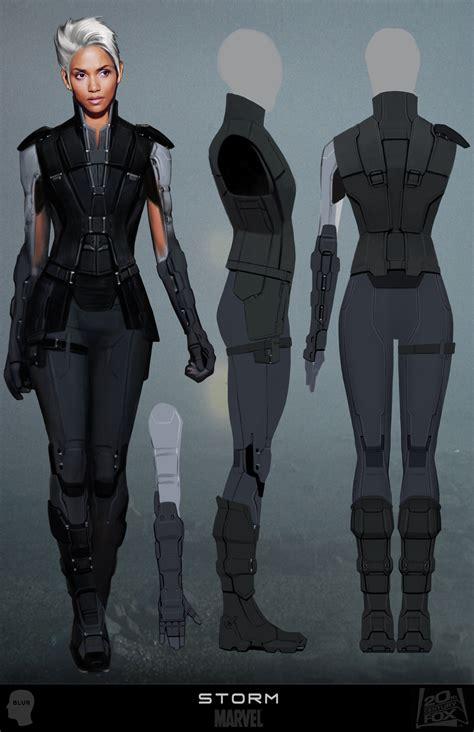 design for x concept x men days of future past costume concept art
