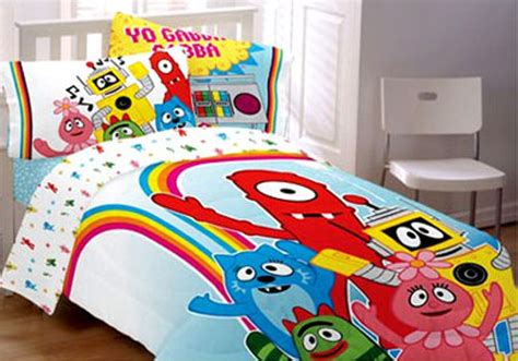 yo gabba gabba bedding yo gabba gabba bedding set brobee comforter sheets bed