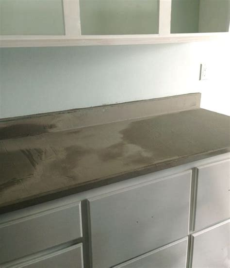 Concrete Overlay Countertops - concrete counters do it yourself cost saver