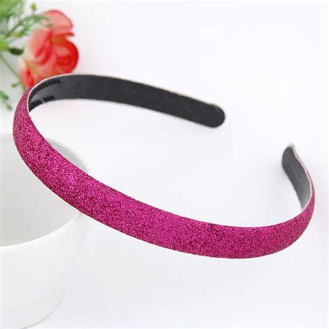 Bandodetachable Pink Blink Abrazine Design Plastic Hair Band Hair Hoop rosary plum blink abrazine design plastic hair band