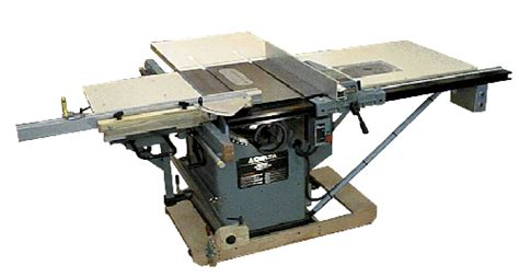 Unisaw Sliding Table Modifications